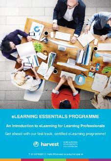 eLearning Essentials Instructional Design Course Harvest