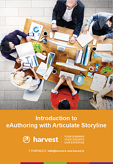 Introduction to eAuthoring with Articulate Storyline